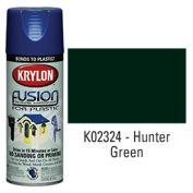 Krylon Fusion For Plastic Paint Gloss Hunter Green - K02324 - Pkg Qty 6