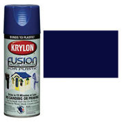 Krylon Fusion For Plastic Paint Gloss Navy - K02326 - Pkg Qty 6