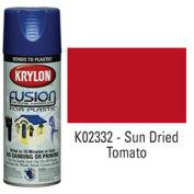 Krylon Fusion For Plastic Paint Gloss Sun Dried Tomato - K02332 - Pkg Qty 6