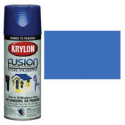 Krylon Fusion For Plastic Paint Gloss Blue Hyacinth - K02333 - Pkg Qty 6