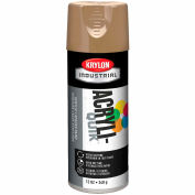 Krylon (5-Ball) Interior-Exterior Paint Khaki - K02504 - Pkg Qty 6