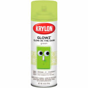 Krylon Glowz Paint Glow Green - K03150 - Pkg Qty 6