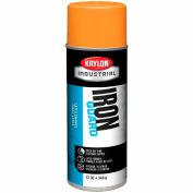 Krylon Industrial Eco-Guard Latex Spray Paint Osha Orange - K07903 - Pkg Qty 12