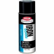 Krylon Industrial Iron Guard Latex Spray Paint Gloss Black - K07908000 - Pkg Qty 12