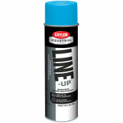 Krylon Industrial Line-Up Sb Pavement Striping Paint Handicap Blue - Pkg Qty 12