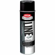 Krylon Industrial Line-Up Sb Pavement Striping Paint Cover-Up Black - Pkg Qty 12