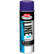 Krylon Industrial Line-Up Wb Athletic Field Striping Paint Athletic Purple - Pkg Qty 12