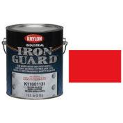 Krylon Industrial Iron Guard Acrylic Enamel Safety Red (Osha) - K11001011 - Pkg Qty 4