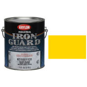Krylon Industrial Iron Guard Acrylic Enamel Safety Yellow (Osha) - K11029101 - Pkg Qty 4