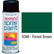 Krylon Industrial Weekend Economy Paint Forest Green - K349 - Pkg Qty 6