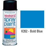 Krylon Industrial Weekend Economy Paint Bold Blue - K352 - Pkg Qty 6
