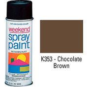 Krylon Industrial Weekend Economy Paint Chocolate Brown - K353 - Pkg Qty 6
