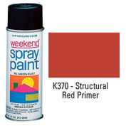 Krylon Industrial Weekend Economy Paint Red Primer - K370 - Pkg Qty 6