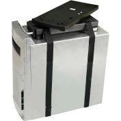 RightAngle™ 200CPU Economy CPU Holder, 60 lbs. Capacity, Black
