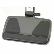Myriad Keyboard & Mouse Tray w/ FastAction Precision Arm, Graphite
