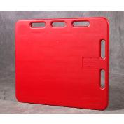 """Kane 4'SORP Sorting Panel 30"""" x 48"""" Red"""