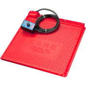 """Kane PHM 28T Heat Mat With Thermostat 18"""" x 28"""" Red"""