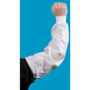 "KeyGuard® Knit Wrist Sleeve, White, 22"" x 9"", 100/Case"