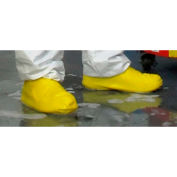 Heavy Duty Latex Boot/Shoe Covers, Yellow, LG, 25 Pairs/Case