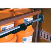 "Kinedyne Saf-T-Lok Round Aluminum Bar 10088 with Pivoting Feet - Adjust 89"" to 105"""