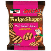 Keebler Fudge Stripes Cookies, Shortbread, 2 Oz, 8/Box