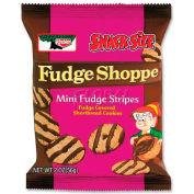 Keebler® Fudge Stripes Cookies, Shortbread, 2 oz., 8/Box