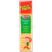 Keebler Sandwich Crackers, Pepper Jack, 1.8 Oz, 12/Box