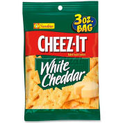 Keebler KEB31533 - Cheez-It Crackers, White Cheddar, 3 Oz, 6/Box