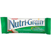 Kelloggs® Nutrigrain Cereal Bars, Apple-Cinnamon, 1.3 Oz, 16/Box
