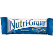 Kelloggs® Nutrigrain Cereal Bars, Blueberry, 1.3 Oz, 16/Box