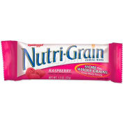 Kelloggs® Nutrigrain Cereal Bars, Raspberry, 1.3 Oz, 16/Box