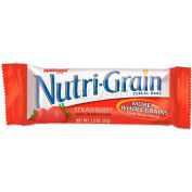Kelloggs® Nutrigrain Cereal Bars, Strawberry, 1.3 Oz, 16/Box