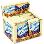Famous Amos Cookies, Chocolate Chip, 2 Oz, 8/Box