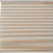 "Keystone Fabrics Light Filtering Cordless Cellular Shade, 35"" Wide x 72"" Drop, Sand"