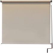 Keystone Fabrics Regal Cordless Outdoor Sun Shade - 4' W x 8' L - Maple