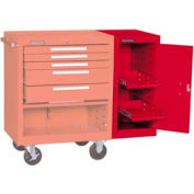"Kennedy® 182XR 18"" 2-Shelf Hang-On Cabinet - Red"