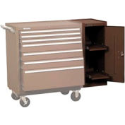 "Kennedy® 202XB 20"" 2-Shelf Hang-On Cabinet - Brown"