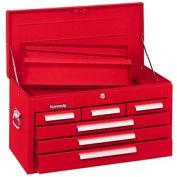 "Kennedy® 266R 26"" 6-Drawer Mechanics Chest - Red"