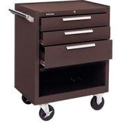 "Kennedy® 273XB K1800 Series 27""W X 18""D X 35""H 3 Drawer Brown Roller Cabinet"