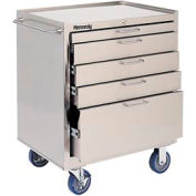 Kennedy® 28085 5-Drawer Stainless Steel Roller Cabinet - Class 100 Cleanroom