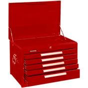 "Kennedy® 2905XR 29"" 5-Drawer Mechanics Chest - Red"