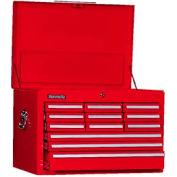 "Kennedy® 2912XR 29"" 12-Drawer Mechanics Chest - Red"