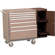 "Kennedy® 302XB 20"" 2-Shelf Hang-On Cabinet - Brown"
