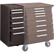 "Kennedy® 306XB 20"" 6-Drawer Hang-On Cabinet - Brown"