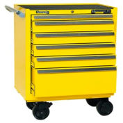 "Kennedy® 3402MPYW 34"" 6-Drawer Roller Cabinet - Yellow"