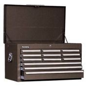 "Kennedy® 3412XB 34"" 12-Drawer Mechanics Chest - Brown"
