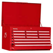 "Kennedy® 3412XR 34"" 12-Drawer Mechanics Chest - Red"