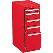 """Kennedy® 386XR 18"""" 6-Drawer Hang-On Cabinet - Red"""