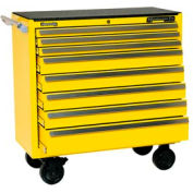 "Kennedy® 3900MPYW 39"" 8-Drawer Roller Cabinet - Yellow"