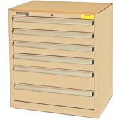Kennedy 6-Drawer Hybrid Modular Cabinet w/Full Extension Drawers-29x20x31,Tan